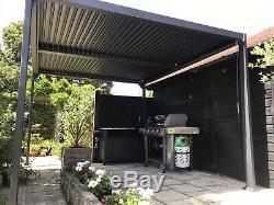 Galaxy Style Toit Pergola Sunshadehot Canopy, Jardin Permanent Gazebo Auvent