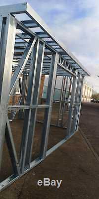 Garden Building Metal Frame, Salon De Jardin, Gymnase, Bureau À Domicile, Maison D'été, 3mx3m