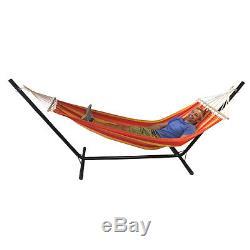 Hamac Avec Chaise De Balançoire De Jardin Chaise Longue Extérieure En Métal Redstone