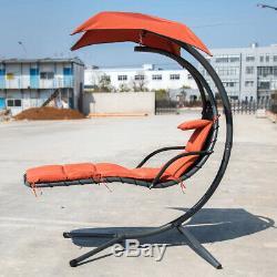 Hamac Suspendu Chaise Balançoire D'hélicoptère Chaise Longue Chaise Coussin De Jardin Canopée