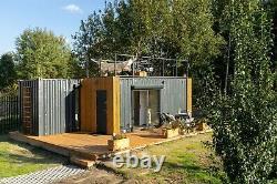Hc28 Maison Convertie Expédition Container Garden House, Maison De Vacances, Maison Bien Rangée