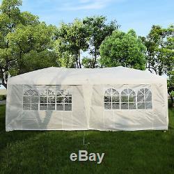 Jardin Blanc Résistant De 6m X De 3m Tente De Mariage De Chapiteau De Tente De Fête De Chapiteau