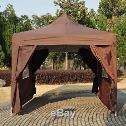 Jardin De 4.5x3m Sautent Le Café D'auvent De Chapiteau De Tente De Fête De Chapiteau De Gazebo Résistant