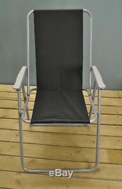 Jardin En Métal Meubles Table Et Chaises Avec Des Chaises Pliantes (6 Pièces)