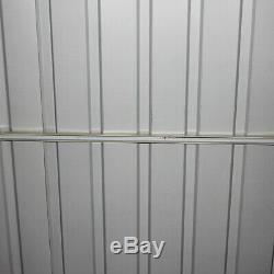 Jardin Extérieur En Métal De Hangar De Stockage D'outil De Hangar De Jardin En Métal 6x4 Toolshed Résistant