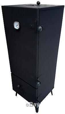 Jardin Metall Fumeur Smokehouse Complet Set 112x45x43 Poisson Barbecue Viande De Porc