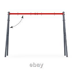 Jardin Swings Set Steel Frame Outdoor Playset Enfants Swings Playground