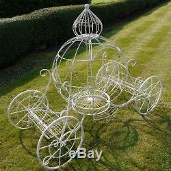 Jardinière En Céramique Ornée De Carrosseries Cendrillon En Céramique