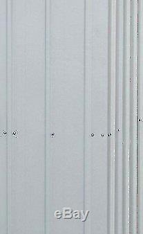 L'unité De Stockage De Jardin En Métal A Versé Les Portes Verrouillables Extérieures De Patio 6 X De 4ft