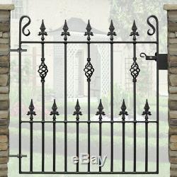 Lance Haut Jardin Simple Portes En Fer Forgé Porte D'acier En Métal 3ft Ouverture