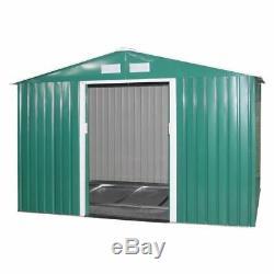 Le Stockage Du Jardin 9x6 A Mis La Base En Acier Galvanisée Par Maison De Hangar De Maison De Hangar