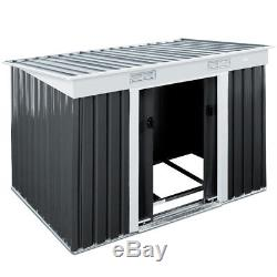 Magasin De Base En Aluminium De Magasin Extérieur De Maison De Stockage Extérieur En Métal 6x4ft De Hangar