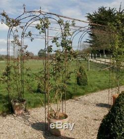 Metal Arch Arch Garden Shabby Chic Pergolas Rusty Garden Arbor Plante De Jardin