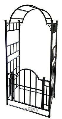 Metal Garden Arch Et Portes D'escalade Usine De Soutien Rose Frame Archway Heavy Duty