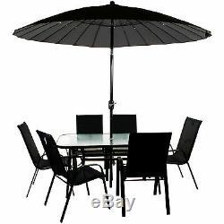 Meubles De Jardin Ensemble Bistro Rectangulaire Ronde Patio Extérieur Table Chaises Pour