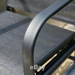 Meubles De Table En Verre Noir Wido
