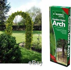 Nouveau Jardin Arch Pour Les Plantes Treillis Rose Escalade Ivy Archway Metal
