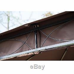 Outsunny 3 MX 3 M Tente De Réception De Jardin Couvert En Tôle De Jardin En Métal