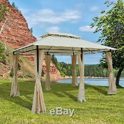 Outsunny 4 X 3m Jardin Pavillon Jardin Pavillon Abri Patio