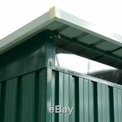 Outsunny 8x6ft Hangar De Jardin En Metal Maison De Rangement