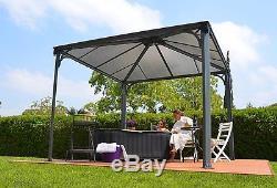 Palram Palermo Garden Gazebo Lay-z-spa Spa Auvent Auvent Livraison Gratuite