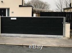 Panneaux Coulissants De Portes En Métal Modernes De Portes Coulissantes En Bois De Hangars Entrée De Jardin Épaisse