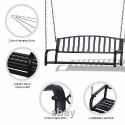 Patio Porch Hanging Swing Chair Garden Deck Yard Bench Seat Meubles Extérieurs