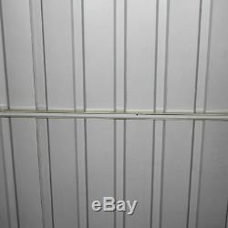 Patio Résistant Toolshed De Patio De Maison Extérieure De Stockage D'outil De Hangar De Jardin En Métal