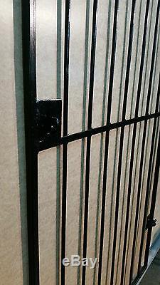 Porte Du Jardin. Jardin Métal Porte Latérale / Fer Forgé Porte / Metal Gate