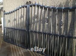 Porte, Porte D'entraînement, Fer Métal Porte, Porte De Sécurité, Porte En Fer Forgé Jardin 01