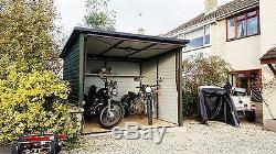 Qualité 8x8ft Garage Shed Vélo Moto Ou Équipement De Jardin Coffre-fort Moto
