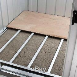 Remise De Jardin Yardmaster Apex En Métal, 10 X 13 Po Avec Cadre De Support Pour Plancher En Acier