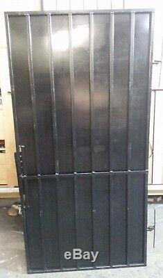 Sécurité De Porte En Acier, Porte. De Jardin En Métal Porte Latérale Avec Rembourrage Des Options De Verrouillage