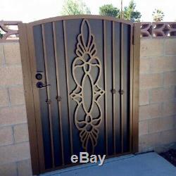 Standard Ou Sur Mesure Portes Design À La Commande Ajouter Un Design Unique À Votre Jardin