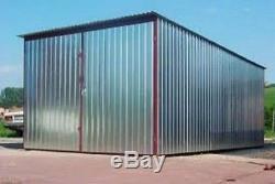 Stockage En Métal Jardin Hangar Atelier Garage Voiture Moto Livraison Gratuite 50 Mile