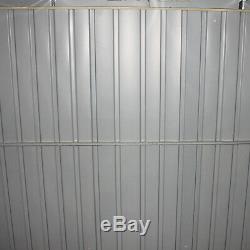 Stockage Résistant Extérieur De Hangar De Jardin En Métal En Métal 8x6ft Avec Cadre Libre De Base