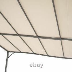 Suntime Metal Garden Wall Gazebo Marquee Patio Bbq Porte Shelter De Porche 2 Tailles