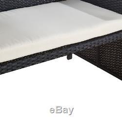 Table Basse Et Patio De Sofa De Patio De Sofa De Meubles De Jardin De Luxe De Rotin Extérieur
