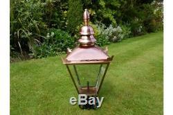 Top Lampe Lanterne Victorienne Poster Jardin Eclairage 4 + Finitions Fonte Post
