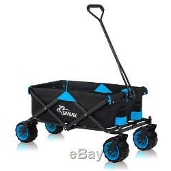 Wagon Aiguille Panier Pliable Offroad Plage Coaster Chariot Jardin Nouveau Samax