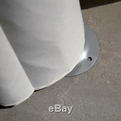Wido 2.7m X 3.5m Rond De Chargement Extérieur Garden Gazebo Party Tent Marquee