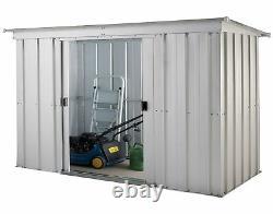Yardmaster Pent Storage De Jardin En Métal 6 X 4ft
